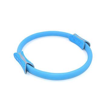 Эспандер кольцо для фитнеса и пилатеса Dobetters M1 Blue диаметр 38 см тренажер для рук ног бедер