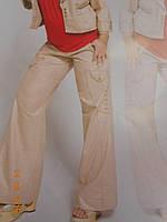 Лляні штани з золотим напиленням Giani Forte