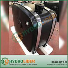 Гидробак боковой 155 л сталь (распред сбоку)