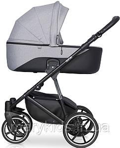 Детская универсальная коляска 3 в 1 Riko Side 01 Grey Fox