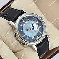 Часы мужские наручные Breguet Classique 5717 Hora Mundi America Black/Silver/Black AAA