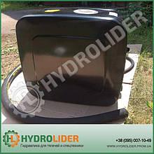 Гидробак боковой 155 л сталь(распред - сбоку)  HYVA 5514017106PA 14017106