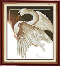 Набор для вышивания крестиком NKF Лебедь D111 14ст