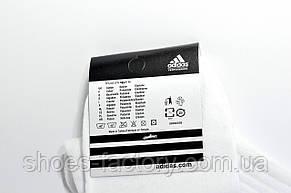 Мужские носки Adidas высокие White, фото 2