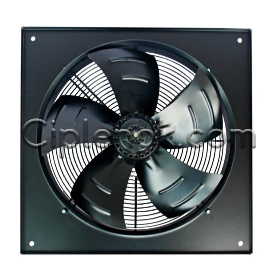 Осевой промышленный вентилятор 500 B/S с фланцем