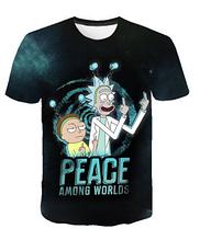 Яркая футболка  размера XXL рисунок Рик и Морти Rick and Morty Rick & Morty