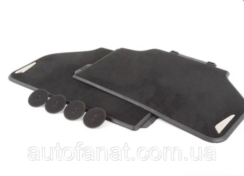 Оригинальные текстильные задние коврики BMW X3 F25, X4 F26 (51472286006)