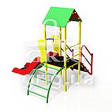 Детский игровой комплекс Карапуз с горкой h700, фото 3