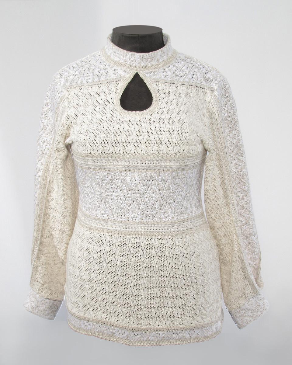 Удлиненная женская блуза - Капля