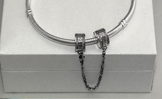 Подвеска стоперы на браслет Пандора Pandora серебро