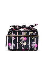 Набор бьюти кейс и косметичка Victoria's Secret art398869 (Черный/Розовый)