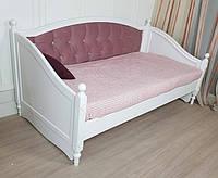 Кровать из дерева Скарлет софа заниженная без фрезеровки