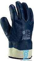 Перчатки рабочие КЩС синяя твердый манжет 10,5 (Sigma)