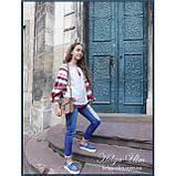 """Дитяча туніка-блуза з вишивкою і натуральним мереживом """"Катерина"""" - 98 р., фото 6"""