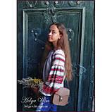 """Дитяча туніка-блуза з вишивкою і натуральним мереживом """"Катерина"""" - 98 р., фото 10"""