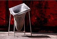 """Вазон декорвтивный из бетона для интерьера и террас """"Гравитация"""" (бетонный)"""