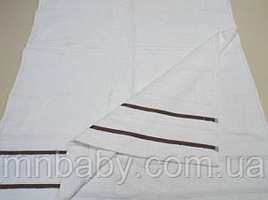 Полотенце махровое Эрмет 70*140 см пломбир