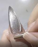 Гель-лак Saga Cat Shine серебро, 8 ml