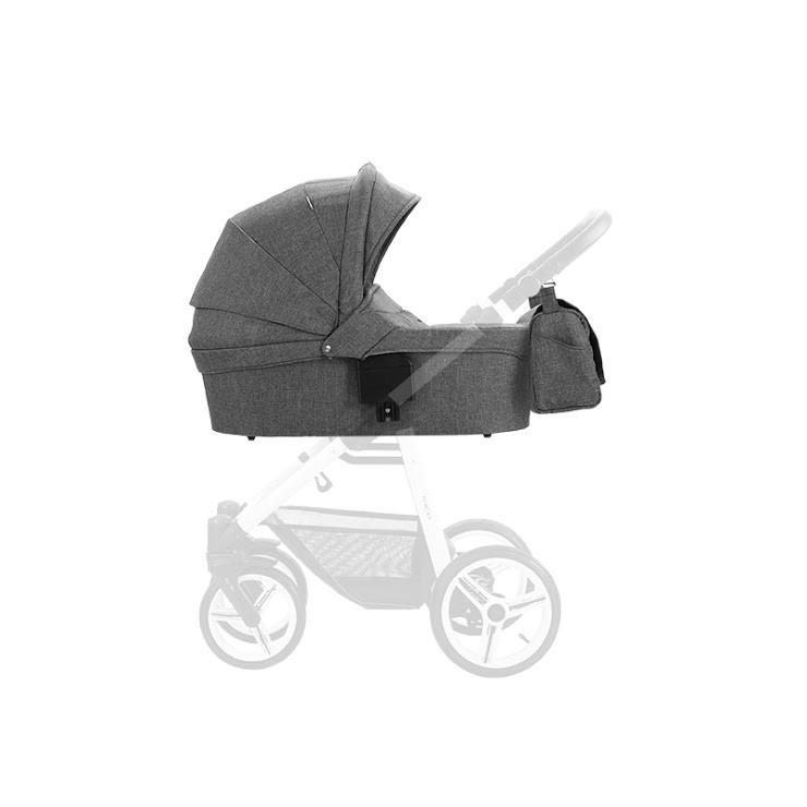 Люлька для коляски Bebetto Nico NEW LJ 195 серая