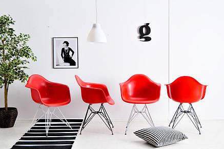 Роскошное кресло на хромированных ножках Leon Chrom ML для баров, кафе, ресторанов, стильных квартир, фото 2