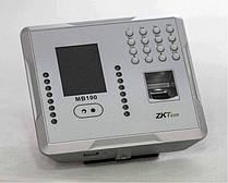 Мультибиометрический терминал УРВ по геометрии лица, отпечатку пальца и картам EM-Marine ZKTeco MB100/ID