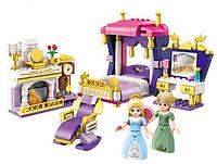 """Детский конструктор для девочек """"Спальня принцессы"""" BRICK 2601"""
