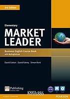 Учебник с диском «Market Leader» третье издание, уровень (A1) Elementary, David Cotton, Simon Kent, David Falvey | Pearson-Longman