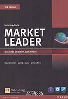 Учебник с диском «Market Leader» третье издание, уровень (B1) Intermediate, David Cotton, Simon Kent, David Falvey | Pearson-Longman