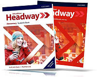 Headway Elementary 5th edition, Student's + Workbook / Учебник + Тетрадь (комплект) английского языка