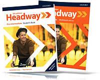 Headway Pre-Intermediate 5th edition, Student's + Workbook / Учебник + Тетрадь (комплект) английского языка