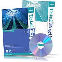 New Total English Elementary, Student's book + Workbook + CD / Учебник + Тетрадь английского языка