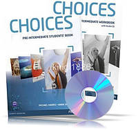 Choices Pre-Intermediate, Student's book + Workbook + CD / Учебник + Тетрадь английского языка