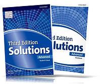 Solutions Advanced, Student's book + Workbook / Учебник + Тетрадь английского языка