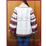 """Дитяча туніка-блуза з вишивкою і натуральним мереживом """"Катерина"""" - 128 р., фото 8"""