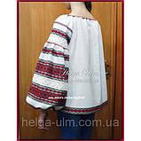 """Дитяча туніка-блуза з вишивкою і натуральним мереживом """"Катерина"""" - 128 р., фото 5"""