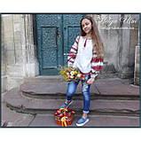 """Дитяча туніка-блуза з вишивкою і натуральним мереживом """"Катерина"""" - 128 р., фото 10"""