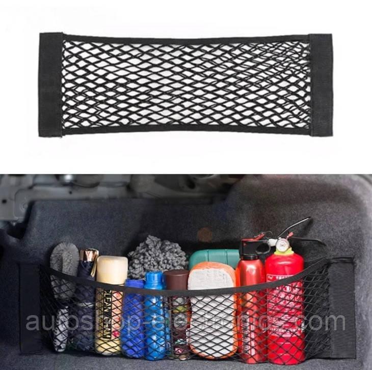 Сетка / Карман / Органайзер для салона и багажника автомобиля ( 80 х 25 см )