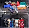 Сетка / Карман / Органайзер для салона и багажника автомобиля ( 80 х 25 см ), фото 3