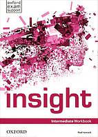 Рабочая тетрадь insight Intermediate, Jayne Wildman | Oxford