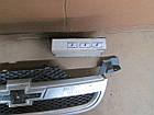 №114 Б/у Решітка радіатора для Chevrolet Aveo T250 2005- (дифект), фото 2