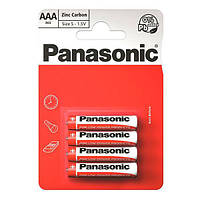 Батарейка PANASONIC солевая R03, 4шт.
