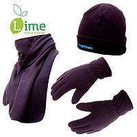 Флисовая шапка + шарф + рукавички, Thinsulate