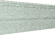Сайдинг U-Plast Timberblock Ясень (прованс зеленый)