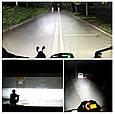 Яркая светодиодная LED Фара + Стробоскоп / Фонарь для авто, мотоцикла, скутера ( 12 LED, 12V, 18 Вт, 6500K ), фото 6