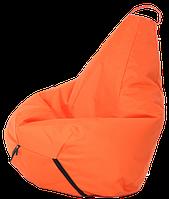 Кресло-мешок Груша Хатка детская Оранжевая (до 5 лет)