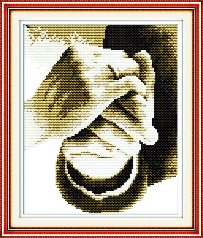 Рука в руке R060 Набор для вышивки крестом канва 14ст