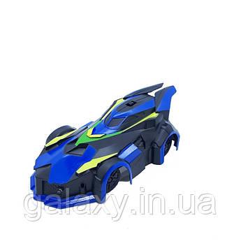 Машинка Антигравітаційна на радіокеруванні їздить по стінах MX-08 синя