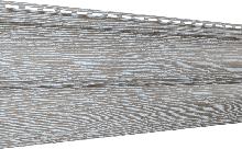 Сайдинг U-Plast Timberblock Дуб (серебристый)