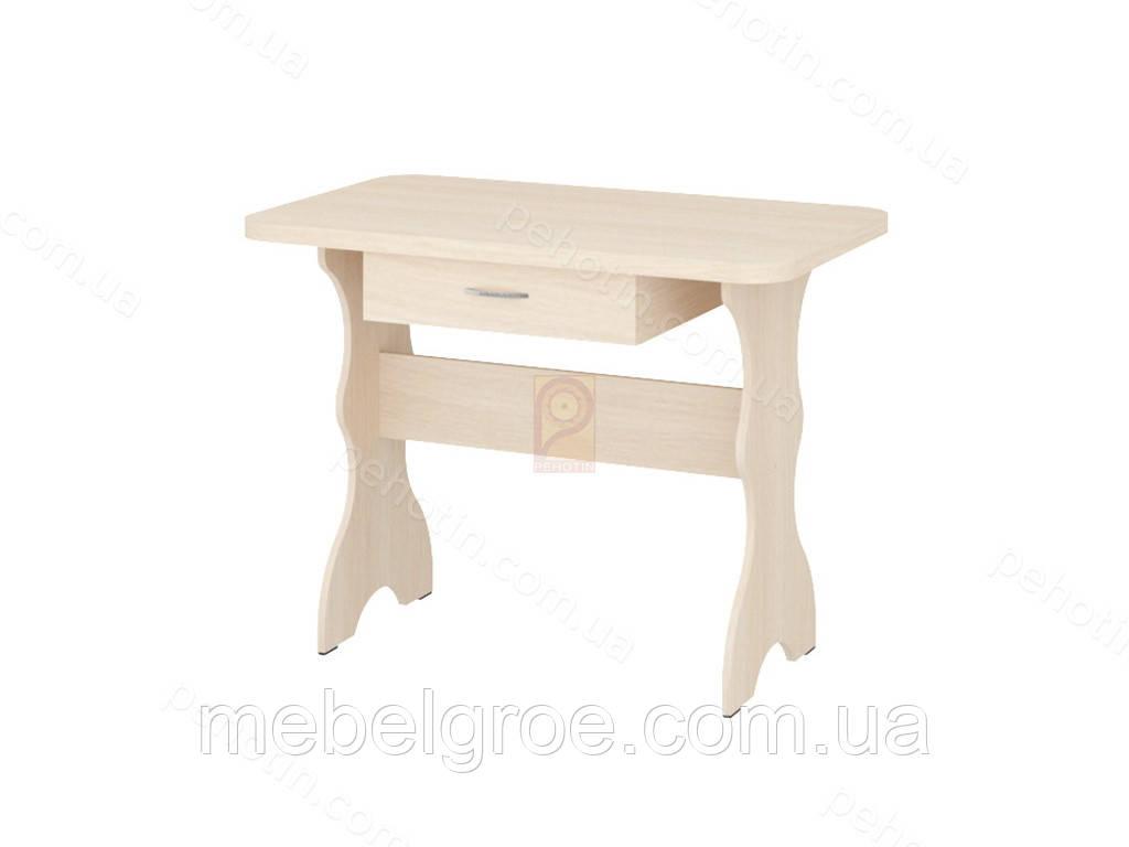 Кухонный стол простой с ящиком тм Пехотин