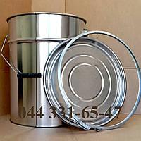 Евроведро Ведро металлическое с крышкой под обруч 20л, фото 1